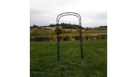 Image of a Arbor - Arch, Black Iron