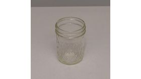 Image of a 1/2 pint Mason Jar Beverage & Barware 8 oz