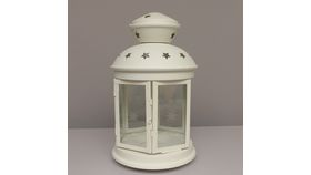 "Image of a Estrella 15"" white Lamps & Lanterns"