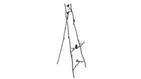 "Image of a Easel - Floor or tabletop 35"" Leaf & Twigs"