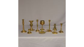 Image of a Brass - Assorted Candle Holders