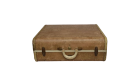 Image of a Suitcase- large light brown