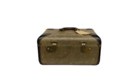 Image of a Suitcase - Vintage Train Case