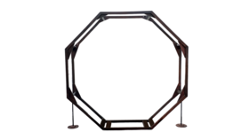"Image of a Arbor - Wooden  Double Octagon - 22"" Depth"