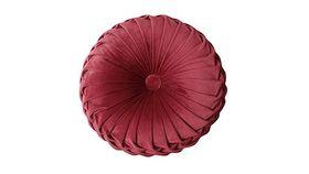 Image of a Cushion - Round, Ruby Velvet