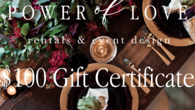 Image of a $100 Gift Certificate