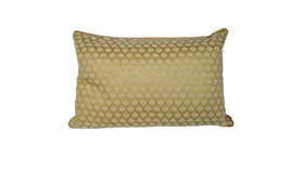 "Image of a Accent Pillow - Lumbar - Rodeo Gold and Cream Shell, 18"" x 26"""