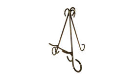 """Easel - 10.5"""" Gold Scroll image"""