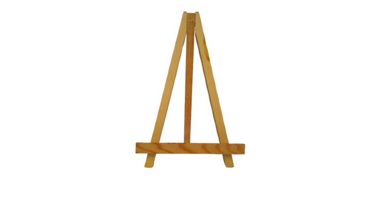 "Picture of a Easel - 9.5"" Wood"