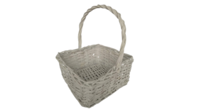Image of a Basket - White