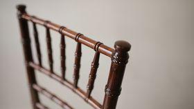 Image of a Mahogany / Fruitwood Chiavari Stacking Chair