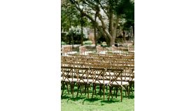 Image of a Vineyard Cross Back Stacking Chair