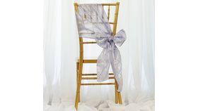 Lavender Pintuck Chair Sash image