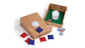 Image of a Bean Bag/Washer Toss Combo Game