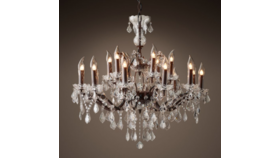 "Image of a 28"" Rococo Chandelier"