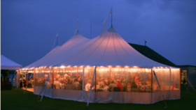 Image of a 24' x 64' Sperry Tent