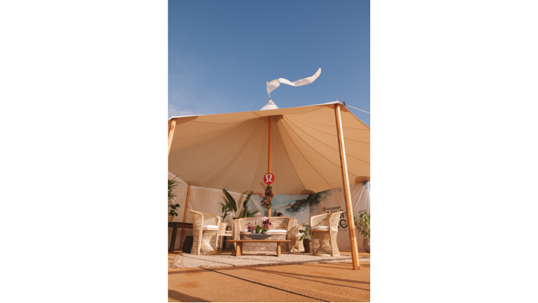 Picture of a Tent Matting
