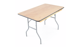 Image of a 4ft Banquet Table