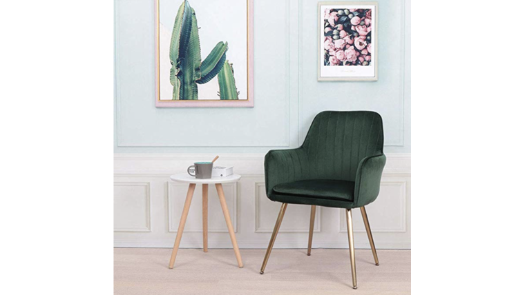 Picture of a Green Side Chair