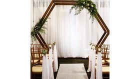 Image of a wooden arch