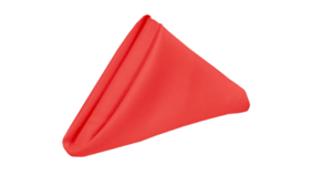 Image of a 17 in. Polyester Napkins Coral