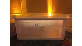 Image of a Acrylic White Bar