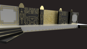 Image of a Gatsby Stage Decorations