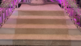 Image of a Carpet for Stairs Ivory Stairs