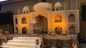 Image of a Taj Mahal Stage Set ( 32 Feet )