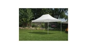 Image of a 10' x 15' Pop-Up Canopy White Tent