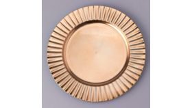 """Image of a PLASTIC CHARGER PLATE 13"""""""