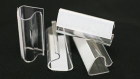 """Image of a Velcro Table Skirt Clip Standard 1/4"""" - 1"""""""