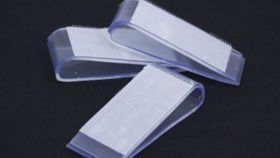 Image of a Velcro Table Skirt Clip Overlay Valance