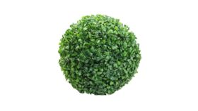 "Image of a Green Artificial Boxwood Ball 7.09""Ball-shaped"