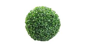 Image of a Green Artificial Boxwood Ball 9.84""