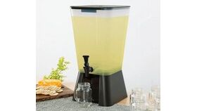 Image of a 5 Gallon Black Beverage / Juice Dispenser