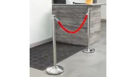 Image of a Chrome Silver Guidance Stanchion