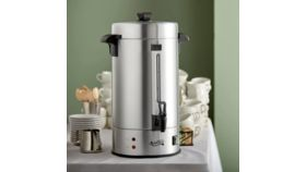 Image of a 100 Cup Aluminum Coffee Urn