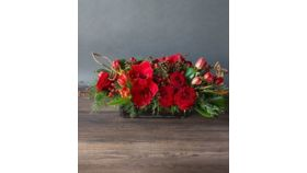 "14"" Long Head Table Flower Arrangement Customer Colors Theme) image"