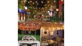 Image of a Outdoor Patio String Lights-100Ft