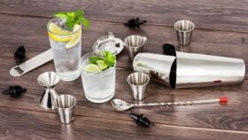 Image of a 13 piece Bar Cocktail Kit