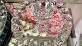 Image of a Mini Bubble Glass Tray