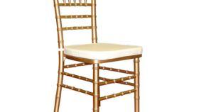 Image of a Ivory Cushion Chiavari Chair