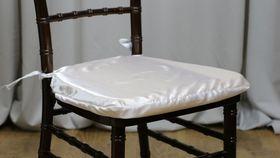 Image of a White Chiavari Envelope/Cushion