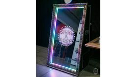 Image of a Fancy Mirror Photo Booth