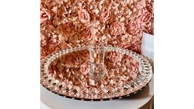 Image of a Mirror Round Cake Stand