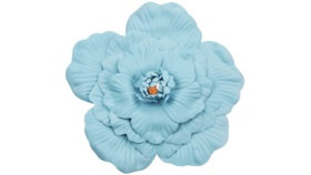 Image of a Baby Blue Foam Flower 40cm