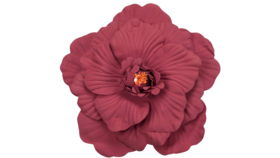 Image of a Burgundy Foam Flower 30cm