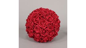 Image of a Red Flowers Balls 16""