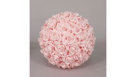 Image of a Pink Flowers Balls 16""
